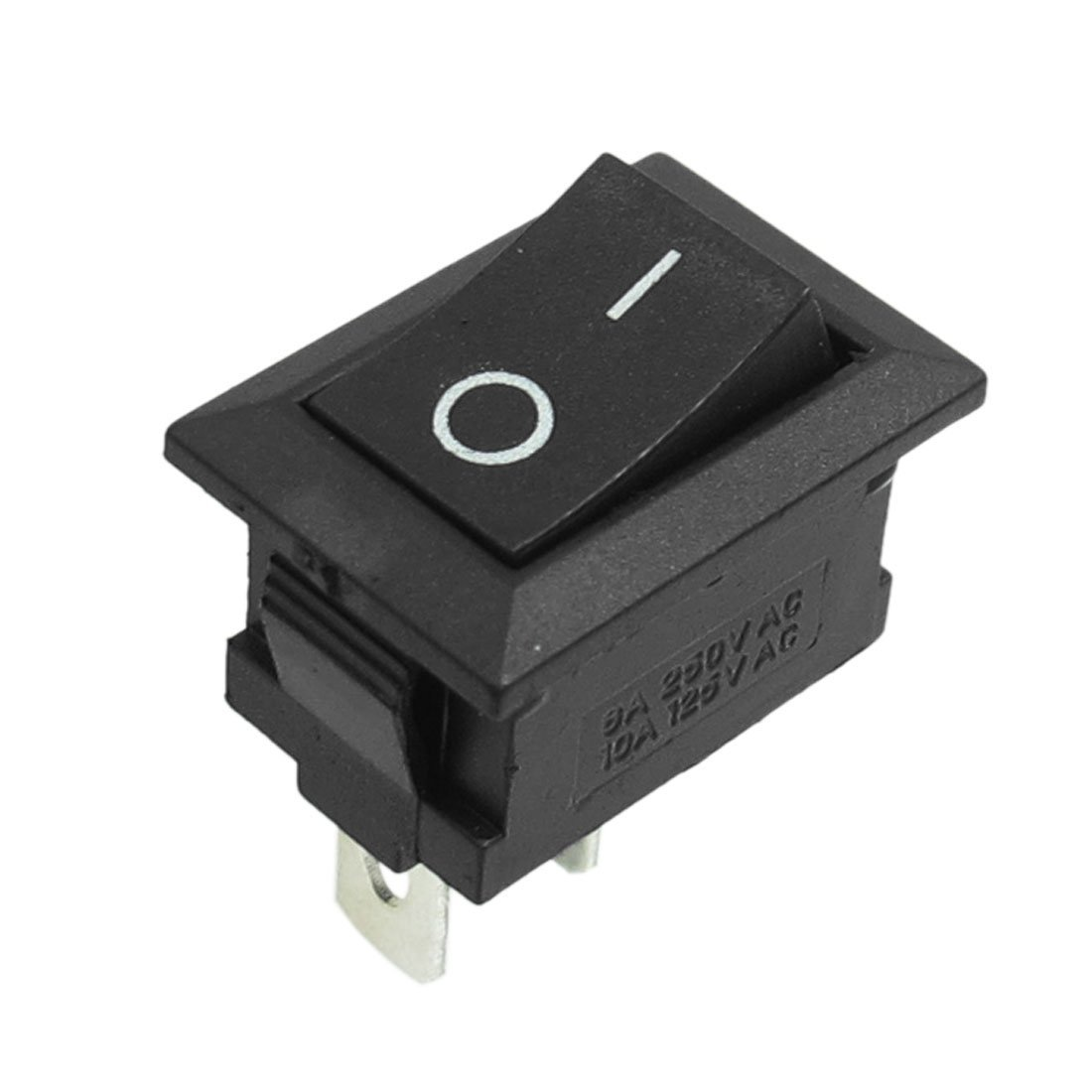 uxcell AC250V 6A / AC125V 10A SPST O/I Rocker Switch for Electric Grinder