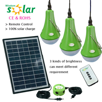 Portable Mini Solar Led Desk Lamp Solar Power Rechargeable Solar ...