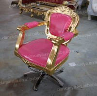 Fancy Hot Pink Salon Chair For Hair