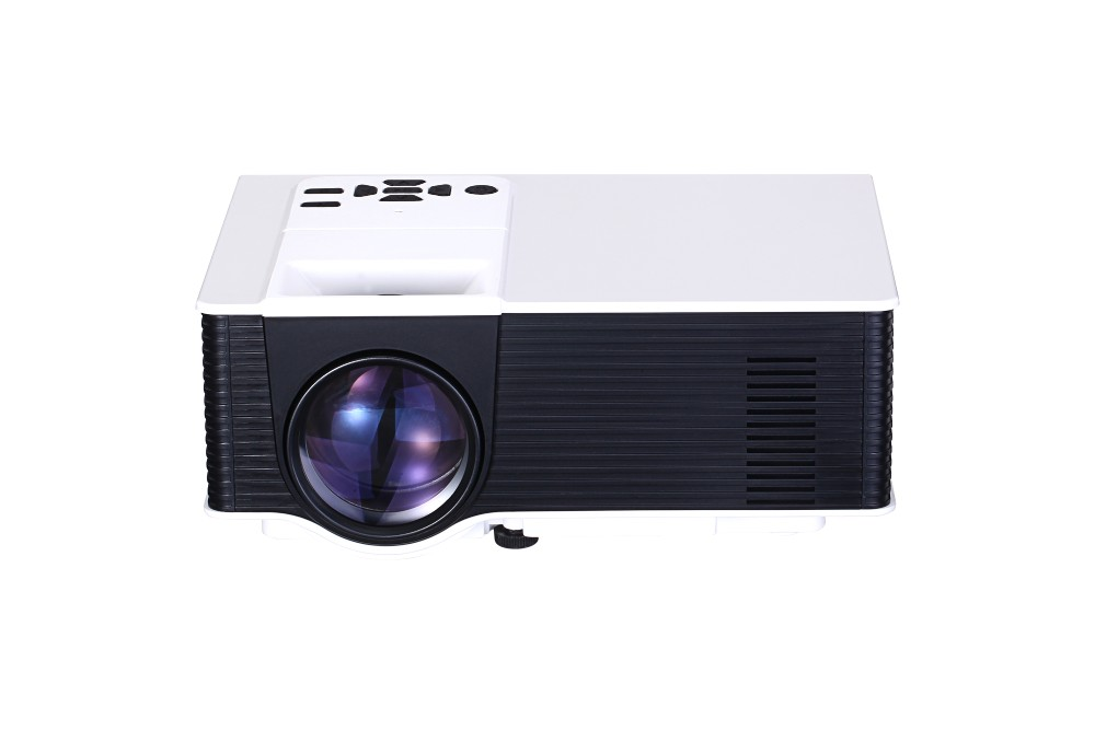 Classic Version Mini Projector 1400 Lumens LED Multimedia Video Projector