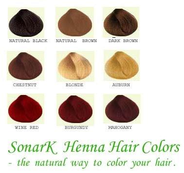 sonark base de plantes henn cheveux couleur colorants - Henn Coloration