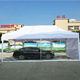 4x8m new style white Original manufacturer customized folding tent with transparency pvc coated