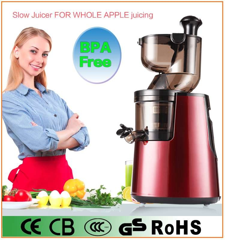 Slow Juicer Vs Whole Fruit : Bpa Free81mm Big Mouth Low Noise Electric Whole Fruit Slow Juicer - Buy Commercial Fruit Juicer ...
