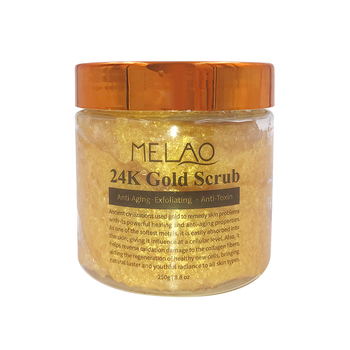 OEM/ODM Wholesale Exfoliating 24K Facial And Body Gold Scrub