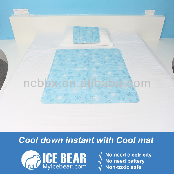 Summer Phase Change Material Cooling Bed Mattress Sleeping Cooling ...