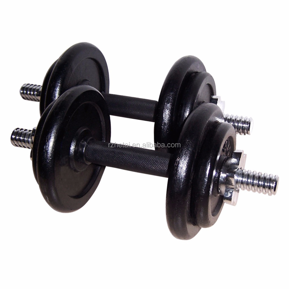 Adjustable cast Iron dumbbell 40 lbs wholesale