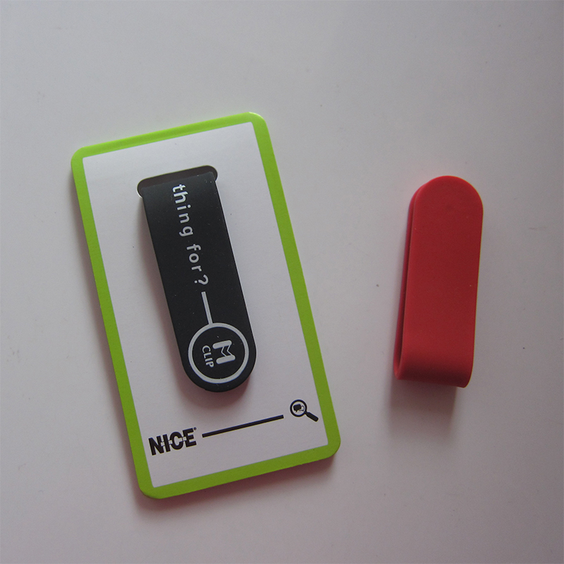 Magnetic smart phone stand cable silicone <strong>clip</strong>
