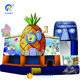 Lovely hot sale pineapple inflatable 5 In 1 combo jumping castle slide combo