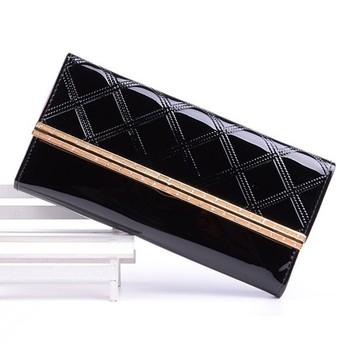 ee9ad7d830d Trend portemonnee dames/zwarte portemonnee buiten zakken/portefeuilles voor  tieners