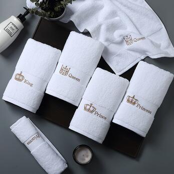 face hotel clean towel 100% cotton