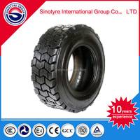 Factory price professional solid forklift tyres 12.00-20TT