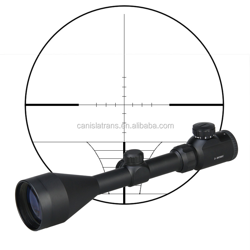 Tactical War Game Shooting Hunting Airsoft Riflescope sight 3-9x56E optic rifle scope