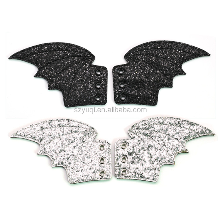 Alibaba china supplier angel wings glitter shwing