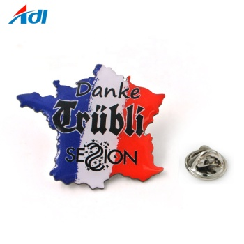 wholesale Custom Epoxy Coated Lapel Pin Printing Logo Dome lapel pin