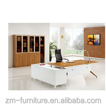 Double Sided Office Computer Desk With Drawers