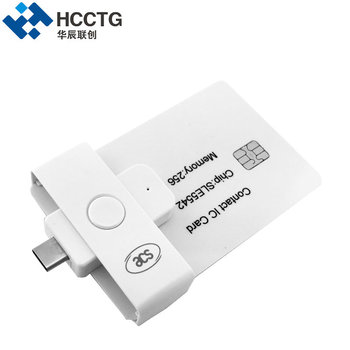 Cheap Pocket Mate IC Chip Type IC Smart Card Reader ACR39U-NF