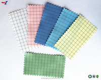 High quality 5mm gridded antistatic cleanroom fabric ESD fabric