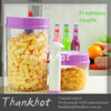 Food Saver 4 Piece Round Canister Set