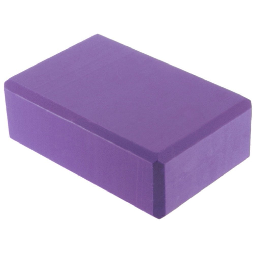 Purple Hot Sale Yoga Block Brick Foaming Foam Home Exercise Practice  Fitness Gym Sport Tool 1b47896a0