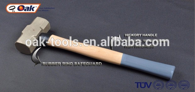 popular striking tools types 14-40mm hand tools non sparking sledge hammer