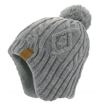 Hot sale women custom beanie hat with earflap thermal winter hats beanie c6dec5e2453