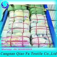 hotel recycling fabric cotton towels and bed sheet wipe rags for industrial usage in bulk price