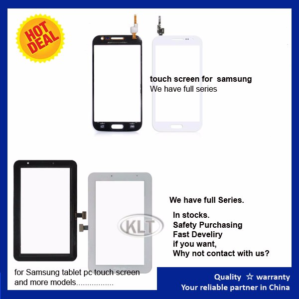 Quality AAA For Samsung i8000 Omnia 2 II LCD Top Touch screen Digitizer Front Cover Glass Lens Wholesale