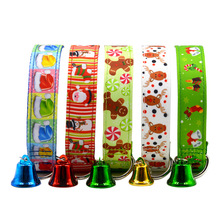 Christmas Personalized Dog Collars Pet Shop Hot Selling Xmas Dog Products Pet Accessories New Products Dog Items