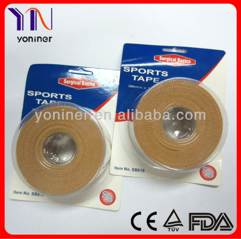 Adhesive Sports Tape Hockey China Manufacturer CE & FDA Approved
