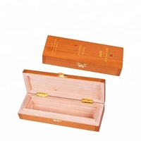 hot sale new design cedar wood single cigar box