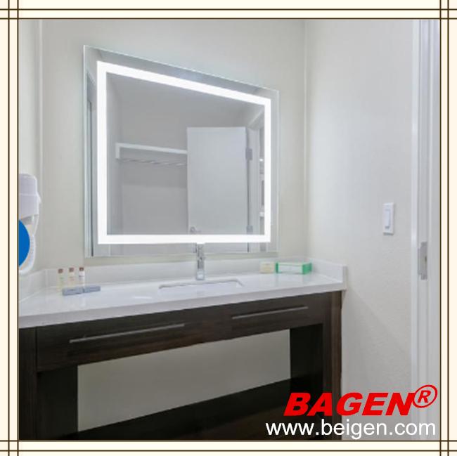 bgl iluminando espejo moderno cuarto de bao espejo con luz led aos