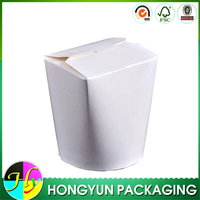 Custom print paper noodle box, novelty design paper food boxes for noodle