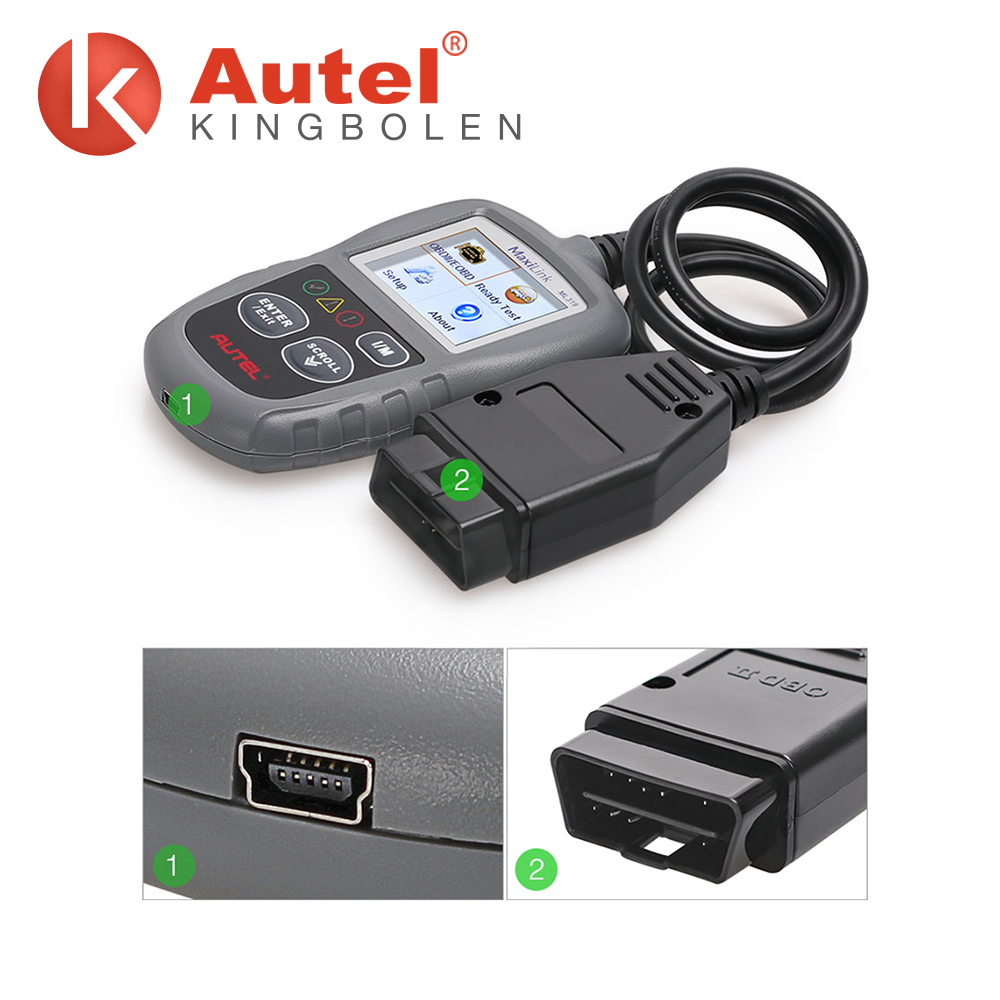 Autel Autolink ML319 obd reader Works on ALL 1996 and newer vehicles (OBD II & CAN)
