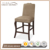 American Faux suede Bar Stools Solid Wood High Back upholstered Bar chairs