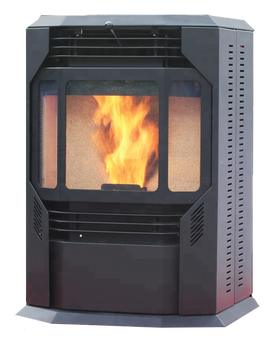 Automatic feeding stove Pellet/good Wood Stoves with remote control for Sale