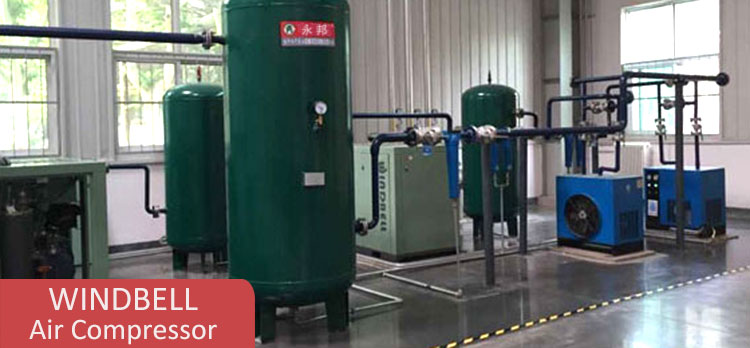 High Pressure 1000 Liter Asme Carbon Steel Compressed Air Receiver Storage Tank