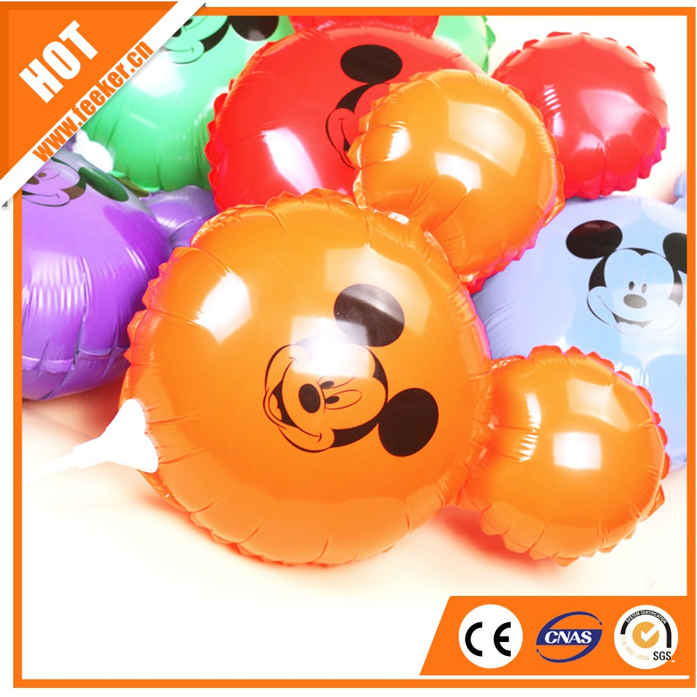 100% Best Quality Mickey Mouse Head Balloons Cartoon Foil Balloons for Theme Party Decoration