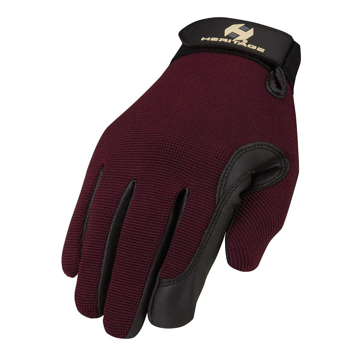 Heritage Performance Gloves Plum 8