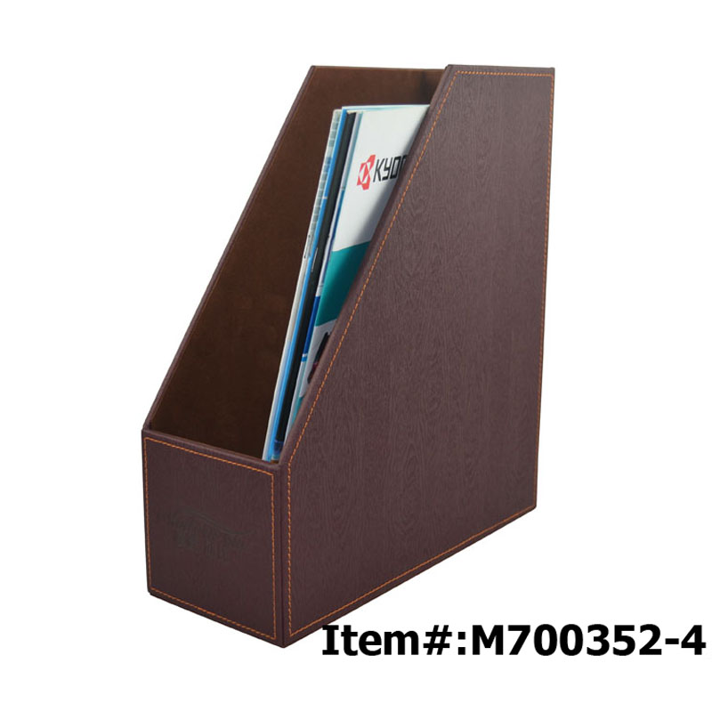 Pvc Foldable Desktop Leather Felt Magazine Holder Buy Magazine Beauteous Foldable Magazine Holder