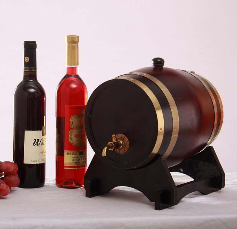 5 loak baril barils de vin tonneau de vin maison brew d coration baril f t de ch ne dans. Black Bedroom Furniture Sets. Home Design Ideas