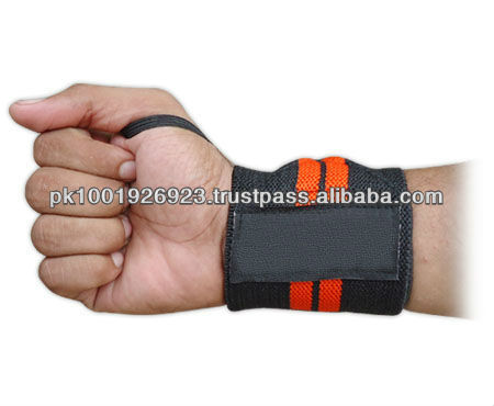 Outdoors Badminton Weight Lifting Tennis Wrist Hand Wrap Support Band
