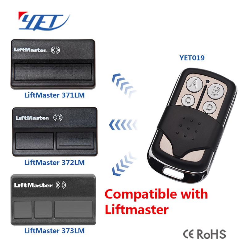 12v Universal Garage Door Opener Compatible Liftmaster Remote