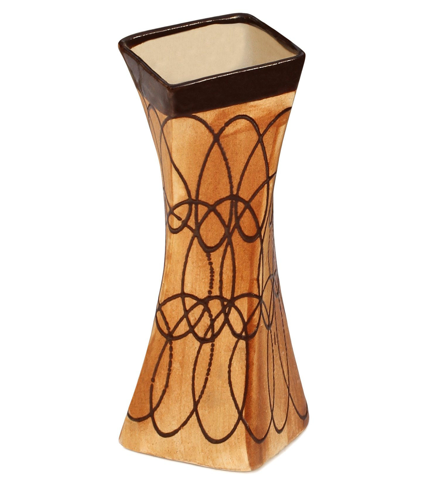 Buy Valentines Day Flower Vase Twisted Turns Decorative Vase For