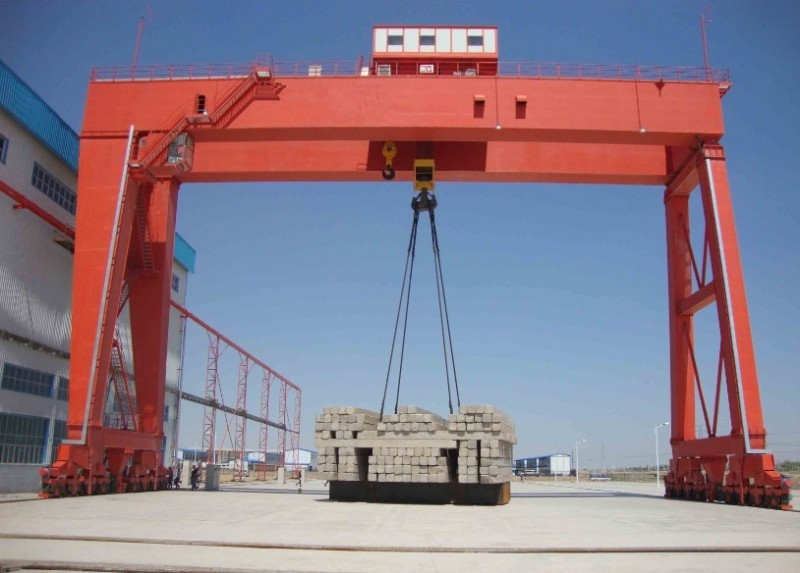 China Mg Model Double Girder Gantry Crane Manufacturers