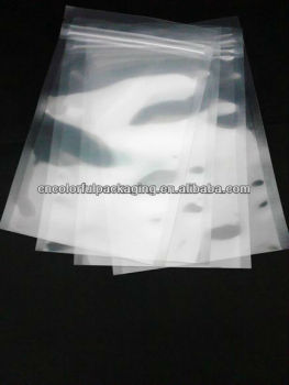 Clear plastic ziplock packaging bags clear plastic shirt for Clear shirt packaging bags