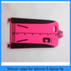 Factory Newest Silicon Sport Clothes Design Case For Iphone 6/6plus