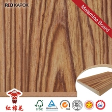 Hot press E0 E1 E2 glue particle board or melamine particle board for indoor furniture with iso9000
