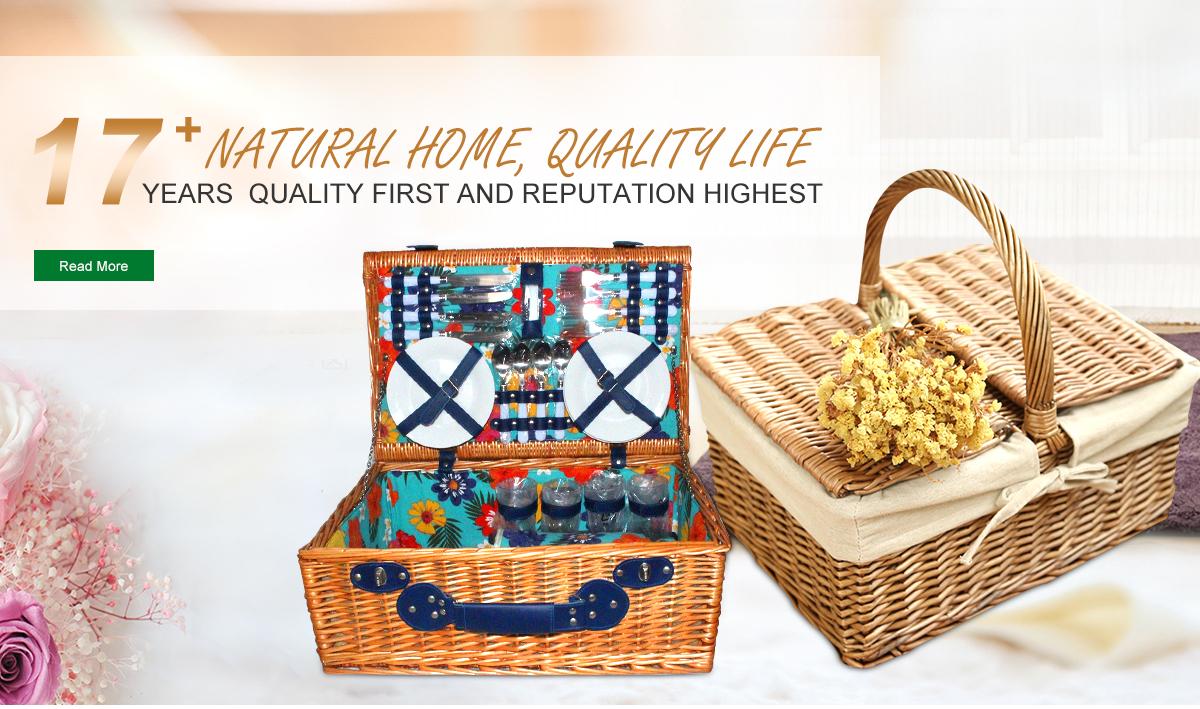 Linshu Lantian Arts & Crafts Co., Ltd. - wire basket, willow ...