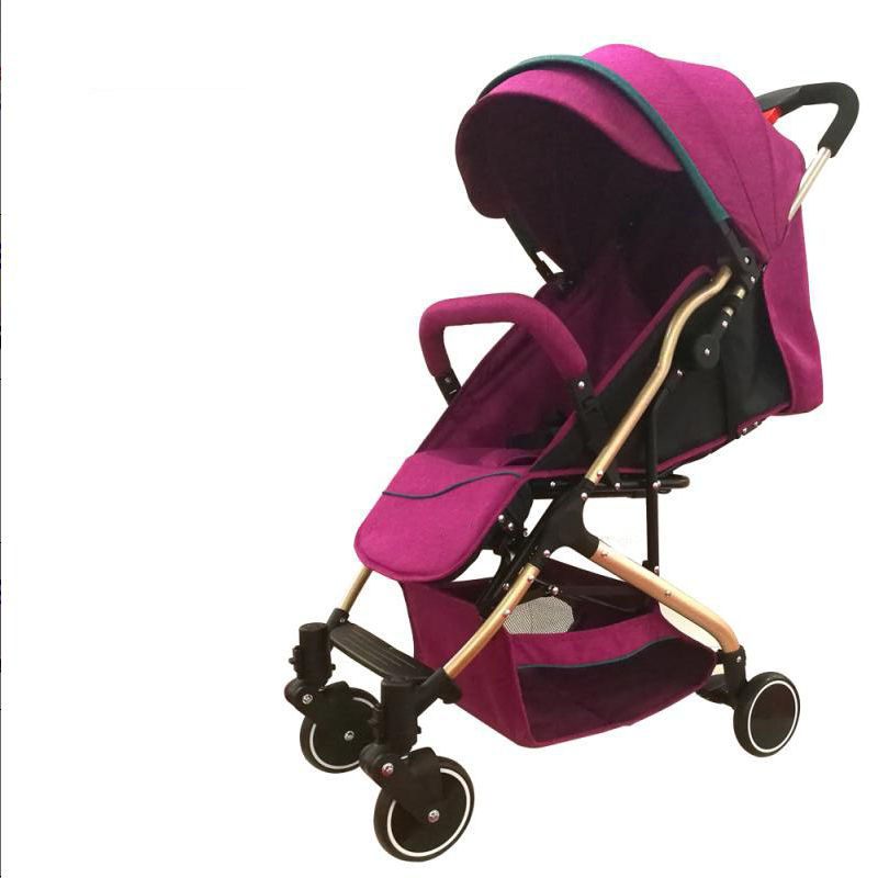 Wholesale lightweight travel system baby doll pram stroller adjustable 5-Point Safety,umbrella high landscape baby stroller