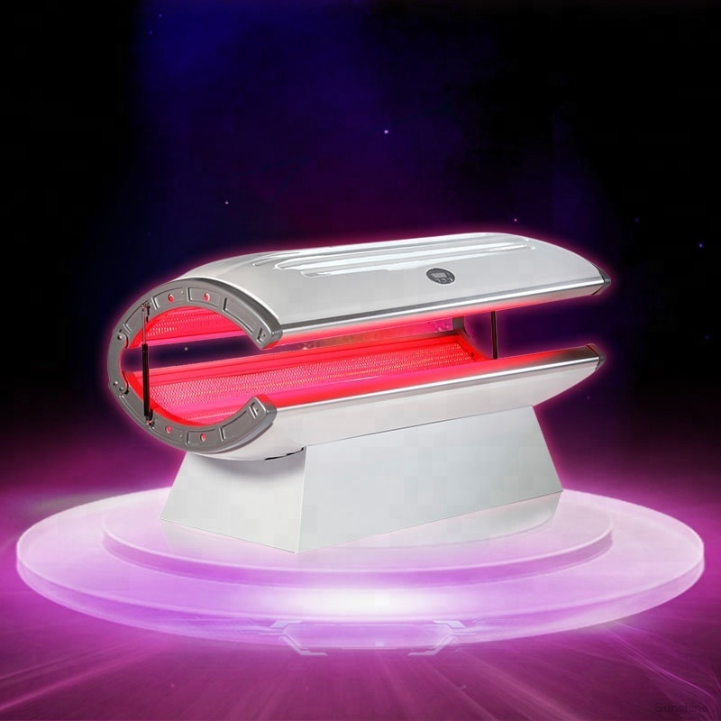 spa capsule led infrared red light therapy bed for skin whitening (CE Approved)